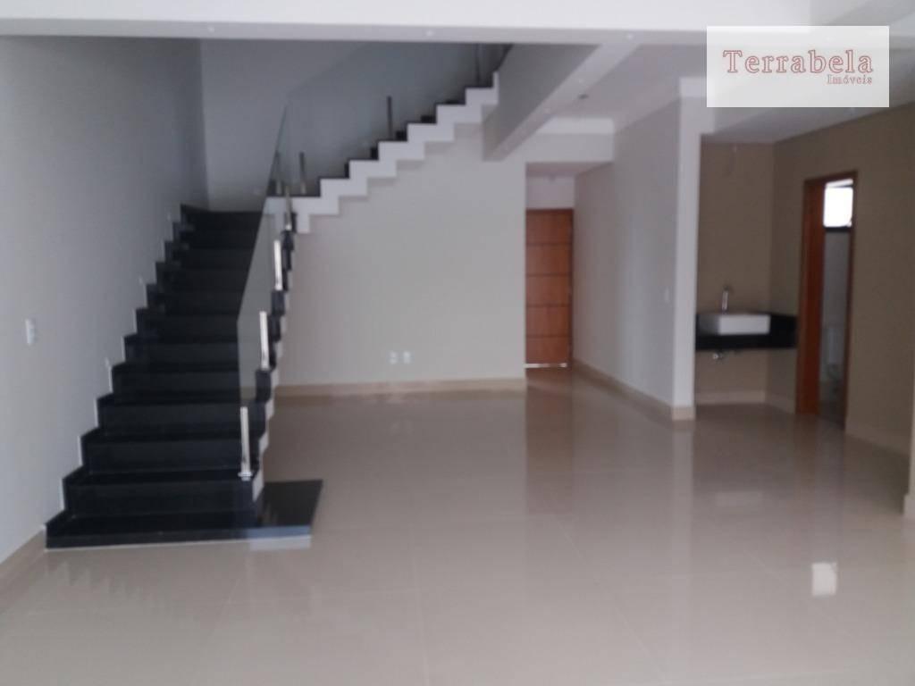 casa com 4 dormitórios à venda, 240 m² por r$ 1.280.000,00 - condomínio reserva da mata - vinhedo/sp - ca0222