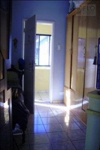 casa com 4 dormitórios à venda, 249 m² por r$ 1.200.000 - marapé - santos/sp - ca0005