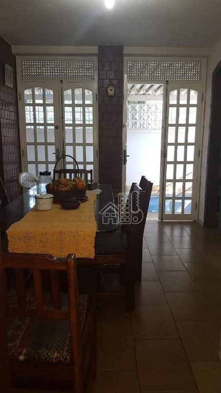 casa com 4 dormitórios à venda, 249 m² por r$ 1.300.000,00 - são francisco - niterói/rj - ca1030