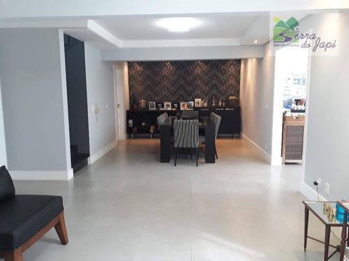 casa com 4 dormitórios à venda, 250 m² por r$ 1.224.000 - nature village i - jundiaí/sp - ca1710