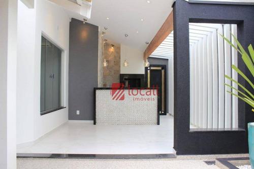casa com 4 dormitórios à venda, 250 m² por r$ 1.500.000 - recanto real - são josé do rio preto/sp - ca1763