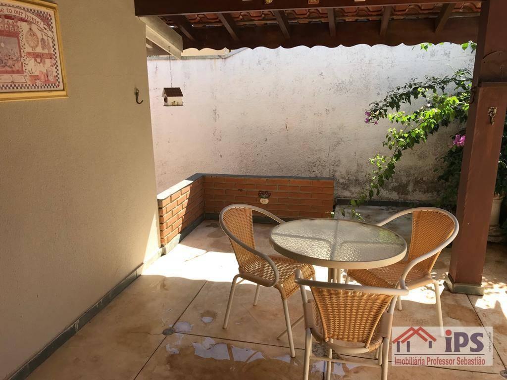 casa com 4 dormitórios à venda, 250 m² por r$ 750.000 - cidade universitária - campinas/sp - ca1373
