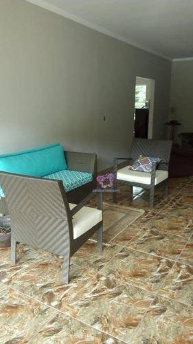 casa com 4 dormitórios à venda, 250 m² por r$ 800.000 - recanto maravilha lll - santana de parnaíba/sp - ca0144