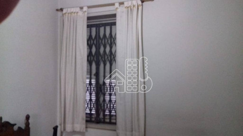 casa com 4 dormitórios à venda, 250 m² por r$ 890.000 - ingá - niterói/rj - ca0919