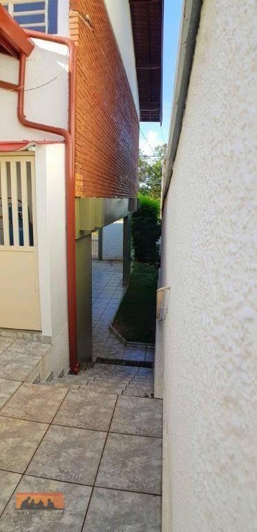 casa com 4 dormitórios à venda, 254 m² por r$ 1.500.000 - cidade universitária - campinas/sp - ca1690
