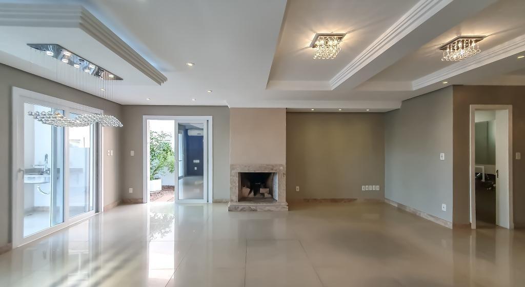 casa com 4 dormitórios à venda, 256 m² por r$ 1.450.000,00 - alphaville - gravataí/rs - ca1522
