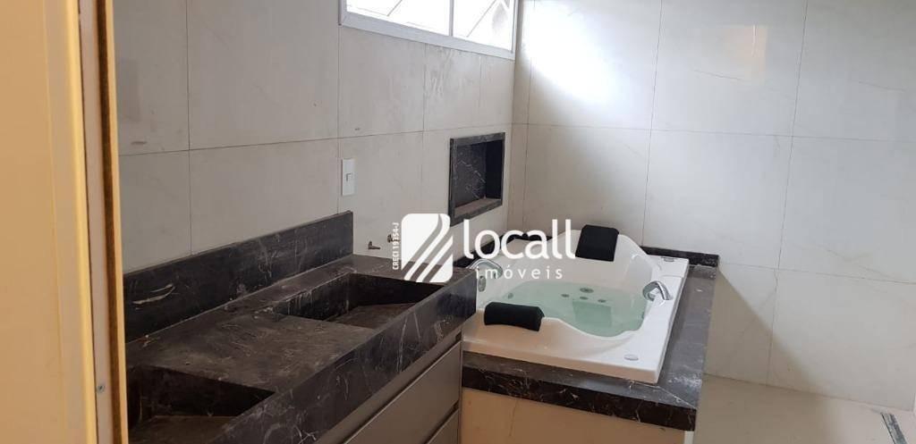 casa com 4 dormitórios à venda, 257 m² por r$ 1.980.000,00 - condomínio quinta do golfe jardins - são josé do rio preto/sp - ca2064