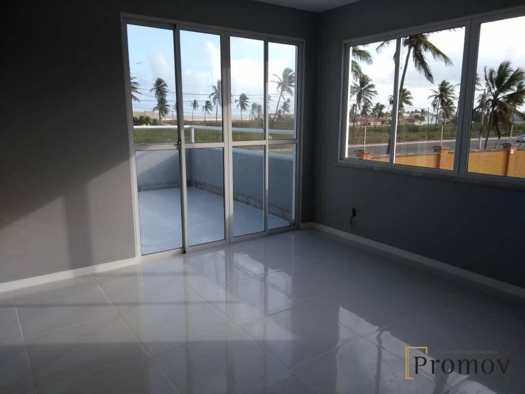 casa com 4 dormitórios à venda, 260 m² por r$ 1.000.000 - centro - barra dos coqueiros/se - ca0341