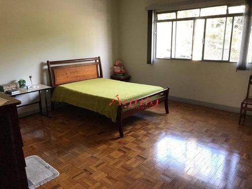 casa com 4 dormitórios à venda, 262 m² por r$ 899.000 - parque jaçatuba - santo andré/sp - ca0530