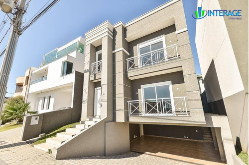 casa com 4 dormitórios à venda, 270 m² por r$ 1.350.000 - santa quitéria - curitiba/pr - ca0219