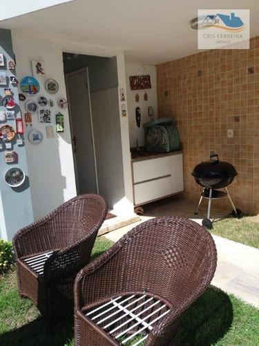 casa com 4 dormitórios à venda, 270 m² por r$ 1.700.000 - piatã - salvador/ba - ca0031