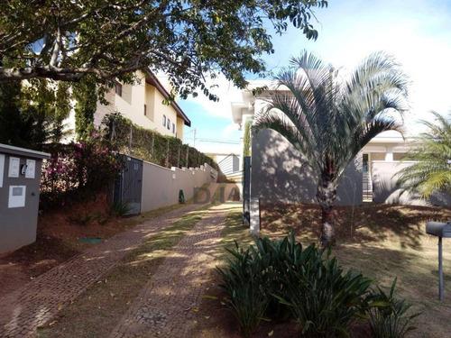casa com 4 dormitórios à venda, 276 m² por r$ 1.690.000,00 - alphaville campinas - campinas/sp - ca13261