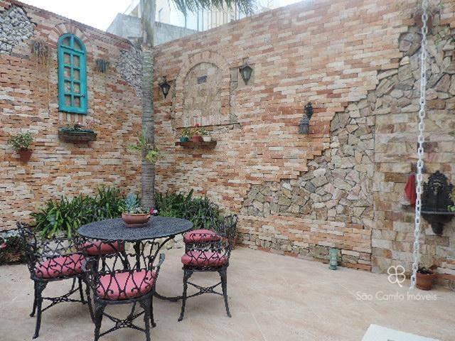 casa com 4 dormitórios à venda, 280 m² por r$ 1.200.000,00 - granja viana - cotia/sp - ca0134