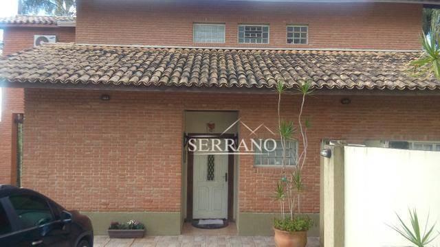 casa com 4 dormitórios à venda, 300 m² por r$ 1.400.000,00 - condomínio vale da santa fé - vinhedo/sp - ca0205
