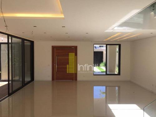 casa com 4 dormitórios à venda, 300 m² por r$ 2.600.000 - recreio dos bandeirantes - rio de janeiro/rj - ca0434