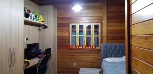 casa com 4 dormitórios à venda, 300 m² por r$ 700.000 - recanto dos nobres parte i - agudos/sp - ca2751