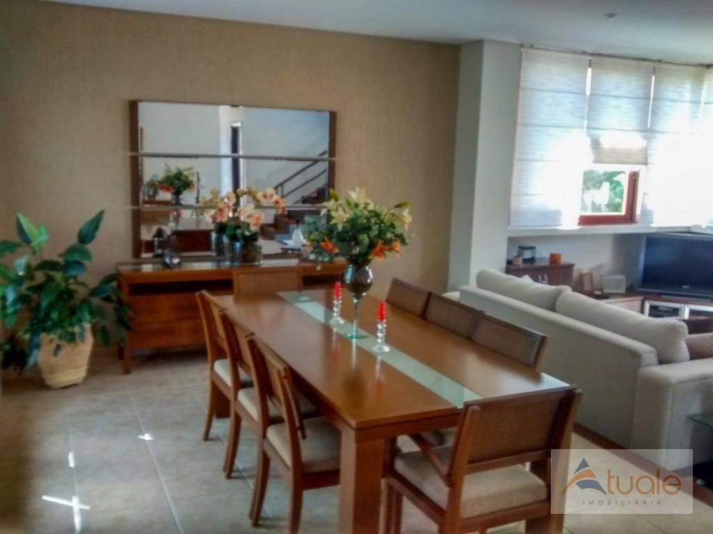 casa com 4 dormitórios à venda, 306 m² - alphaville campinas - campinas/sp - ca6295