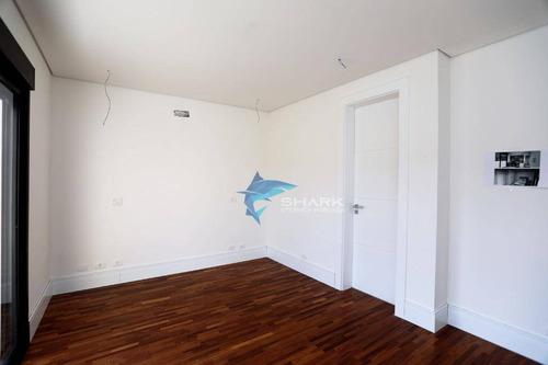 casa com 4 dormitórios à venda, 306 m² por r$ 4.500.000 - tambore 11 - santana de parnaíba/sp - ca0057