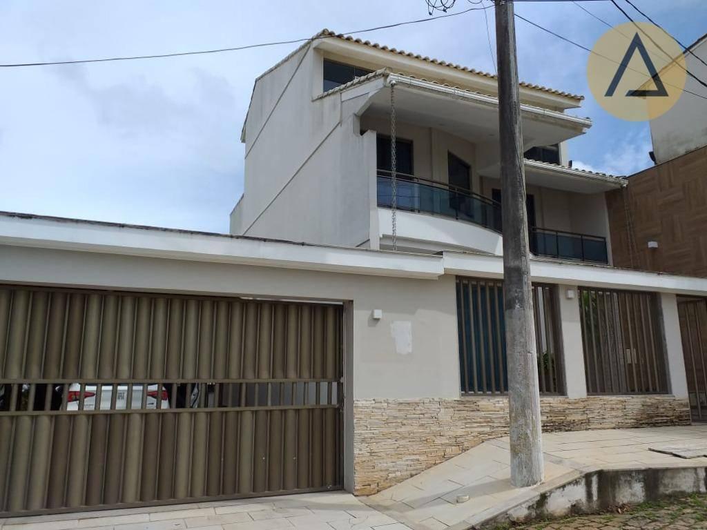 casa com 4 dormitórios à venda, 308 m² por r$ 1.300.000 - glória - macaé/rj - ca1048
