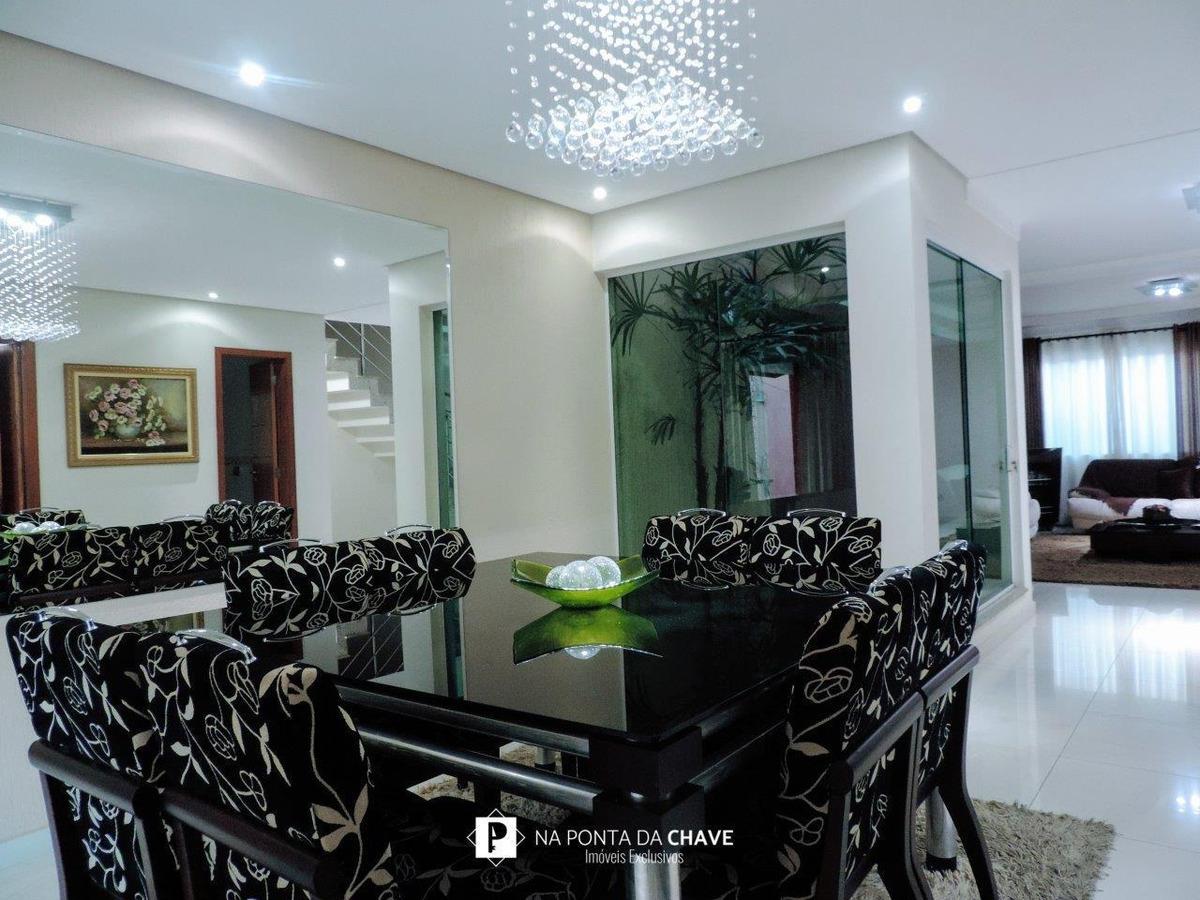 casa com 4 dormitórios à venda, 315 m² por r$ 1.290.000,00 - parque dos pássaros - são bernardo do campo/sp - ca0035