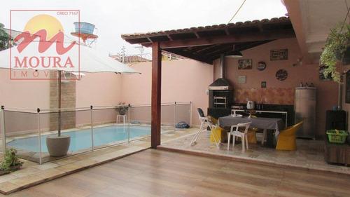 casa com 4 dormitórios à venda, 330 m² por r$ 950.000 - jardim marco zero - macapá/ap - ca0473
