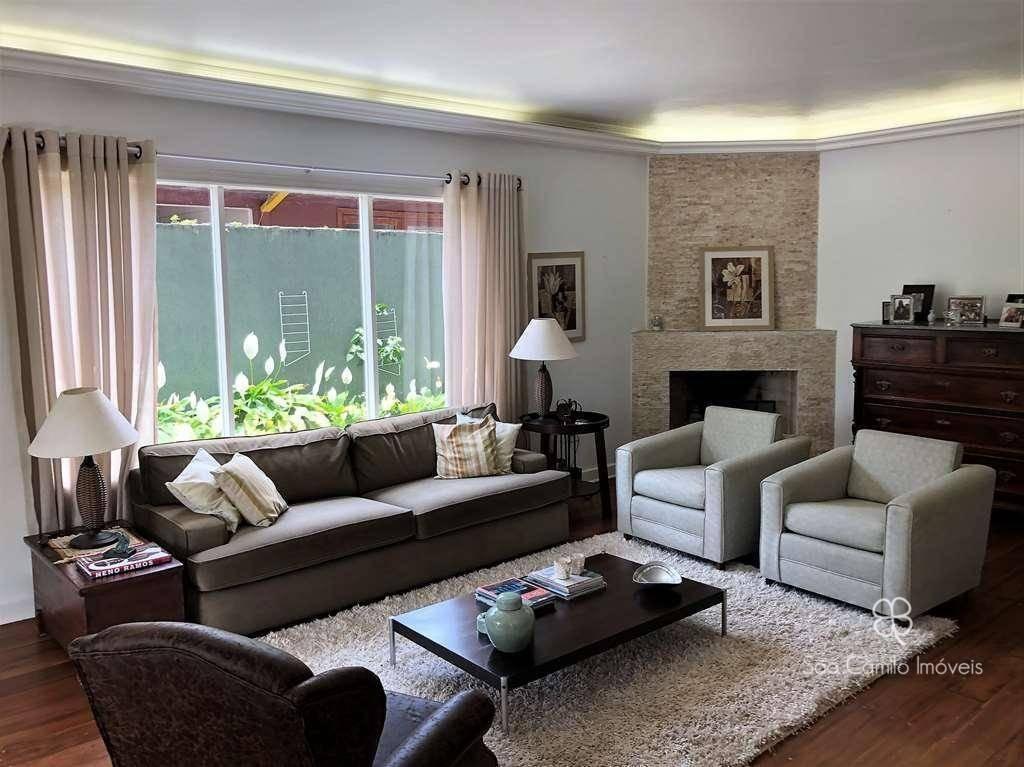 casa com 4 dormitórios à venda, 337 m² por r$ 1.490.000 - granja viana - jandira/sp - ca1773