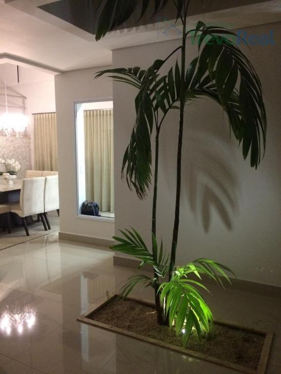 casa com 4 dormitórios à venda, 340 m² por r$ 1.500.000 - condomínio residencial portal do jequitiba - valinhos/sp - ca1660