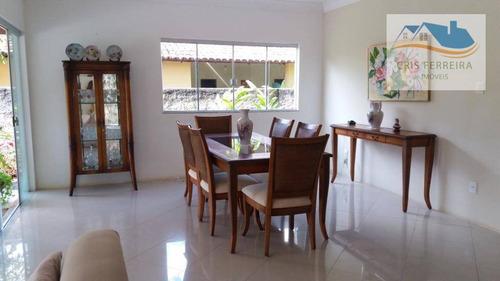 casa com 4 dormitórios à venda, 340 m² por r$ 1.600.000 - piatã - salvador/ba - ca0025