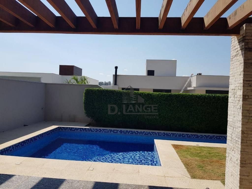 casa com 4 dormitórios à venda, 343 m² - alphaville dom pedro - campinas/sp - ca11876