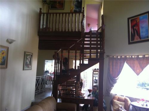 casa com 4 dormitórios à venda, 350 m² por r$ 1.100.000 - condomínio bosques de grevílea - vinhedo/sp - ca0007