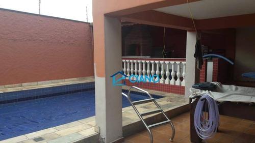 casa com 4 dormitórios à venda, 350 m² por r$ 1.230.000 - vila prudente - são paulo/sp - ca0187