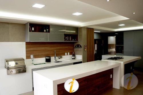 casa com 4 dormitórios à venda, 350 m² por r$ 1.799.000 - altiplano cabo branco - joão pessoa/pb - ca1506