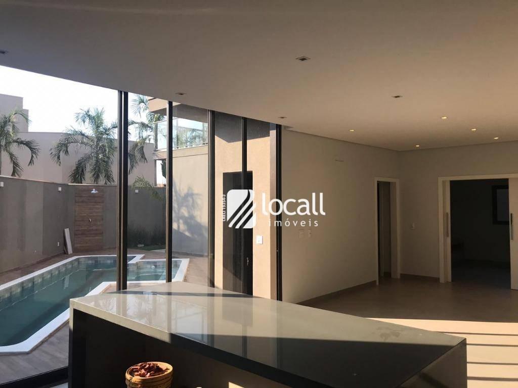 casa com 4 dormitórios à venda, 365 m² por r$ 2.700.000 - residencial quinta do golfe - são josé do rio preto/sp - ca2111