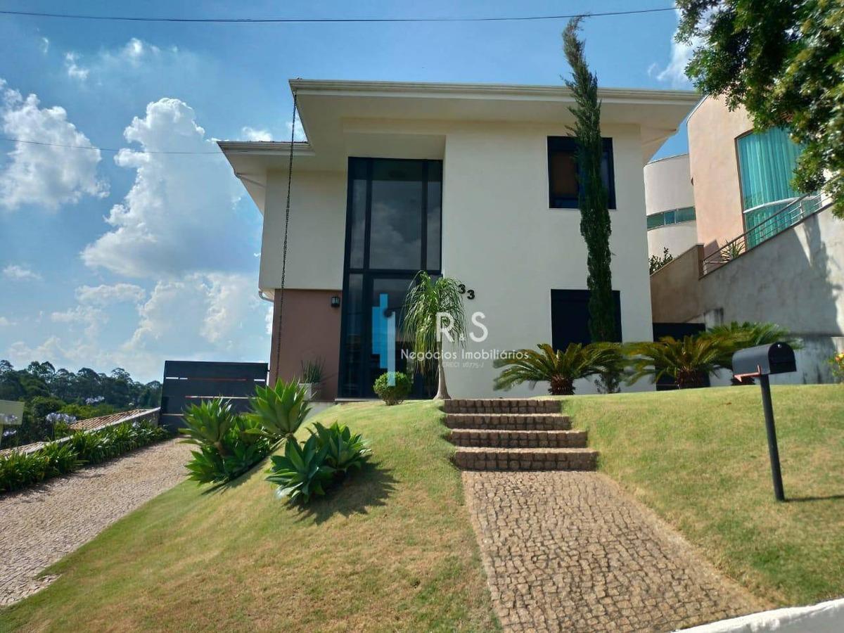 casa com 4 dormitórios à venda, 366 m² por r$ 1.700.000,00 - condomínio villagio capriccio - louveira/sp - ca0334