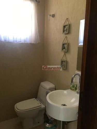 casa com 4 dormitórios à venda, 372 m² por r$ 1.800.000 - condomínio arujazinho iii - arujá/sp - ca1332