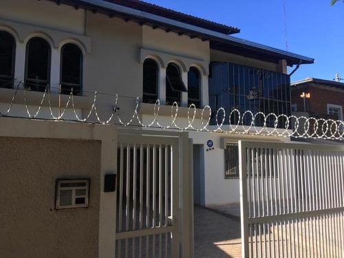 casa com 4 dormitórios à venda, 400 m² por r$ 1.100.000 - jardim chapadão - campinas/sp - ca2075