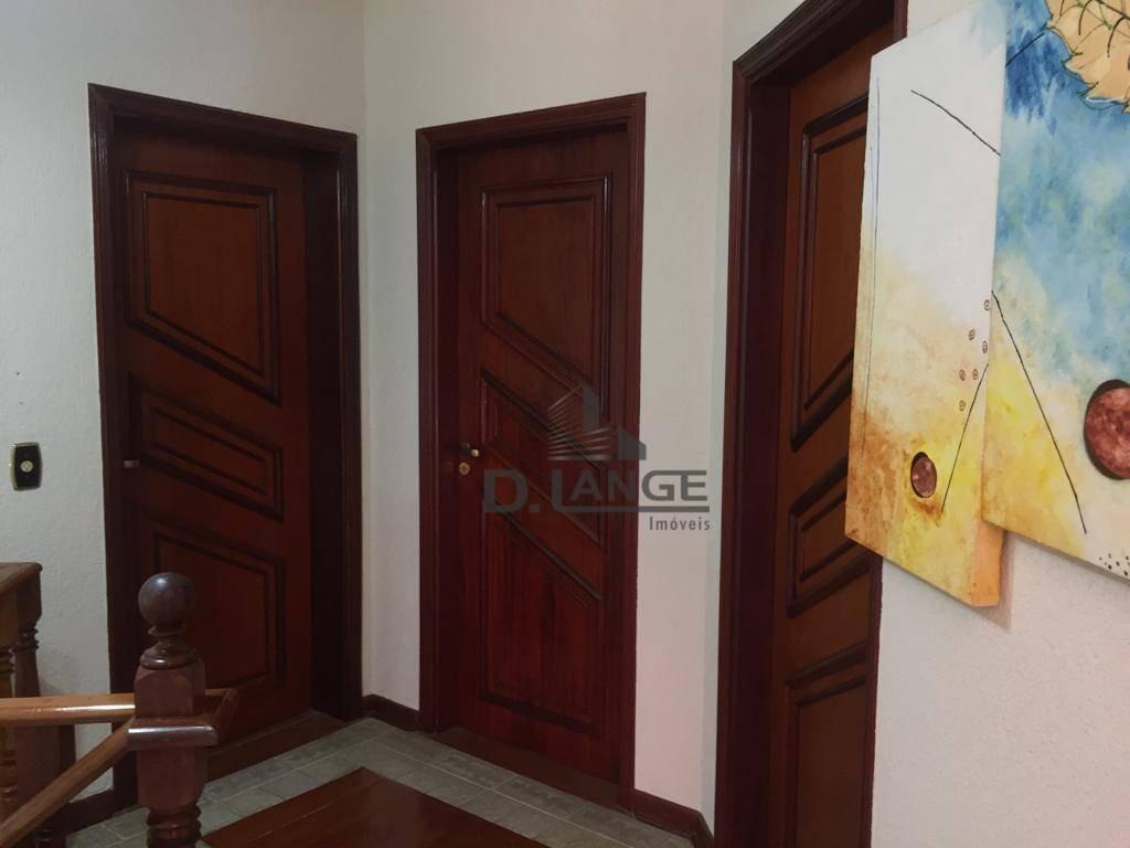 casa com 4 dormitórios à venda, 400 m² por r$ 1.250.000 - jardim chapadão - campinas/sp - ca5804