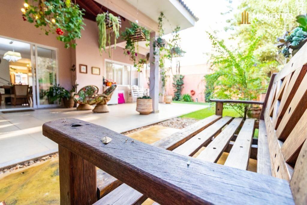 casa com 4 dormitórios à venda, 400 m² por r$ 1.650.000 - loteamento portal do paraíso i - jundiaí/sp no portal do paraíso ii - ca0015