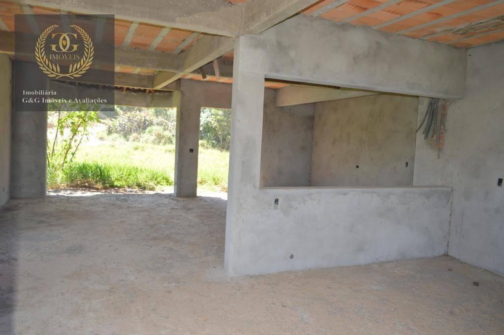 casa com 4 dormitórios à venda, 400 m² por r$ 350.000,00 - tarumã - viamão/rs - ca0325