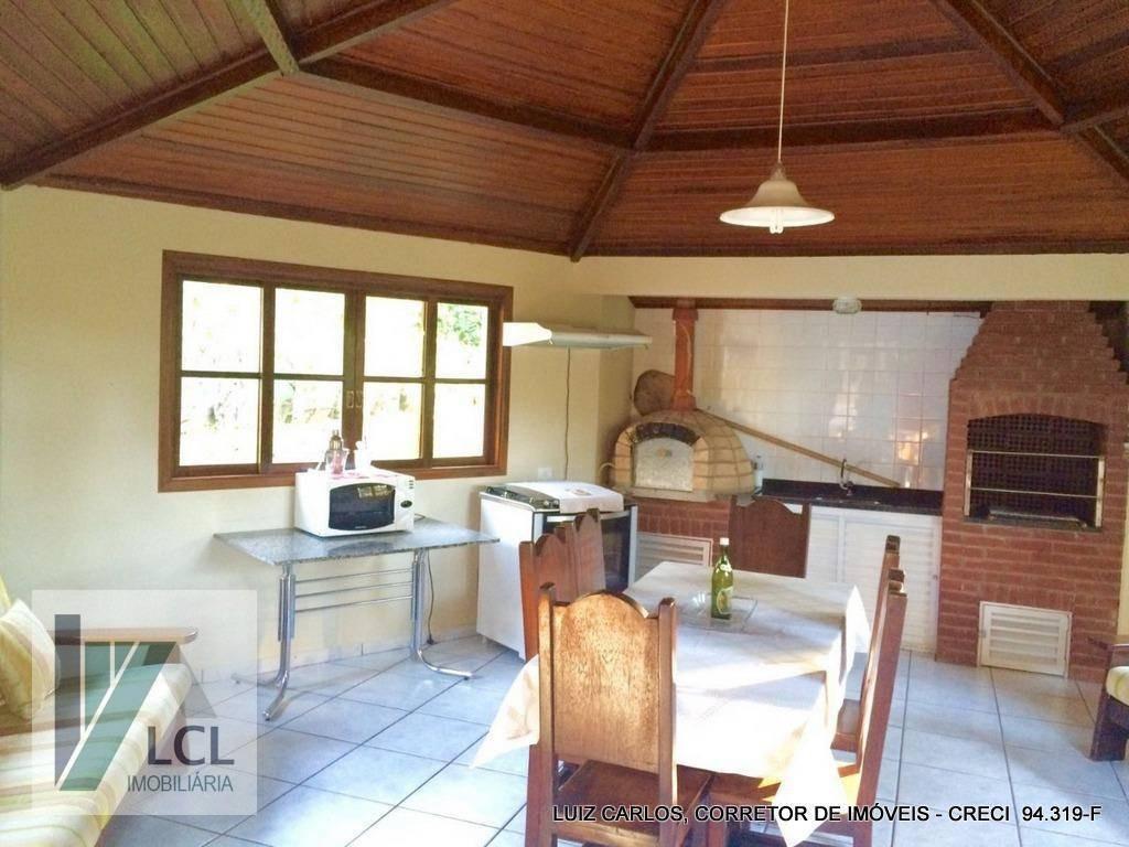 casa com 4 dormitórios à venda, 400 m² por r$ 650.000,00 - aldeinha - itapecerica da serra/sp - ca0013