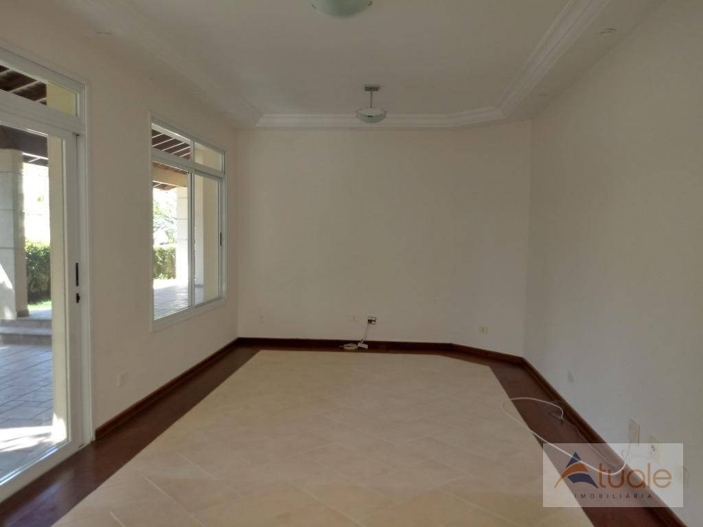 casa com 4 dormitórios à venda, 420 m² - alphaville campinas - campinas/sp - ca6315