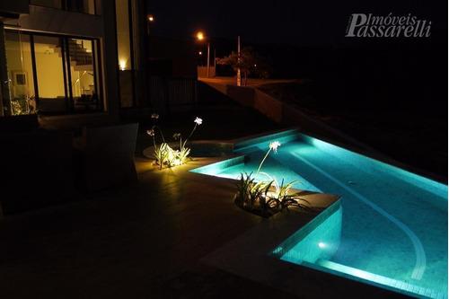 casa com 4 dormitórios à venda, 422 m² por r$ 2.170.000,00 - condomínio campo de toscana - vinhedo/sp - ca1908