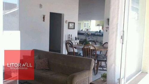 casa com 4 dormitórios à venda, 427 m² por r$ 1.500.000 - recanto dos pescadores - itanhaém/sp - ca1240