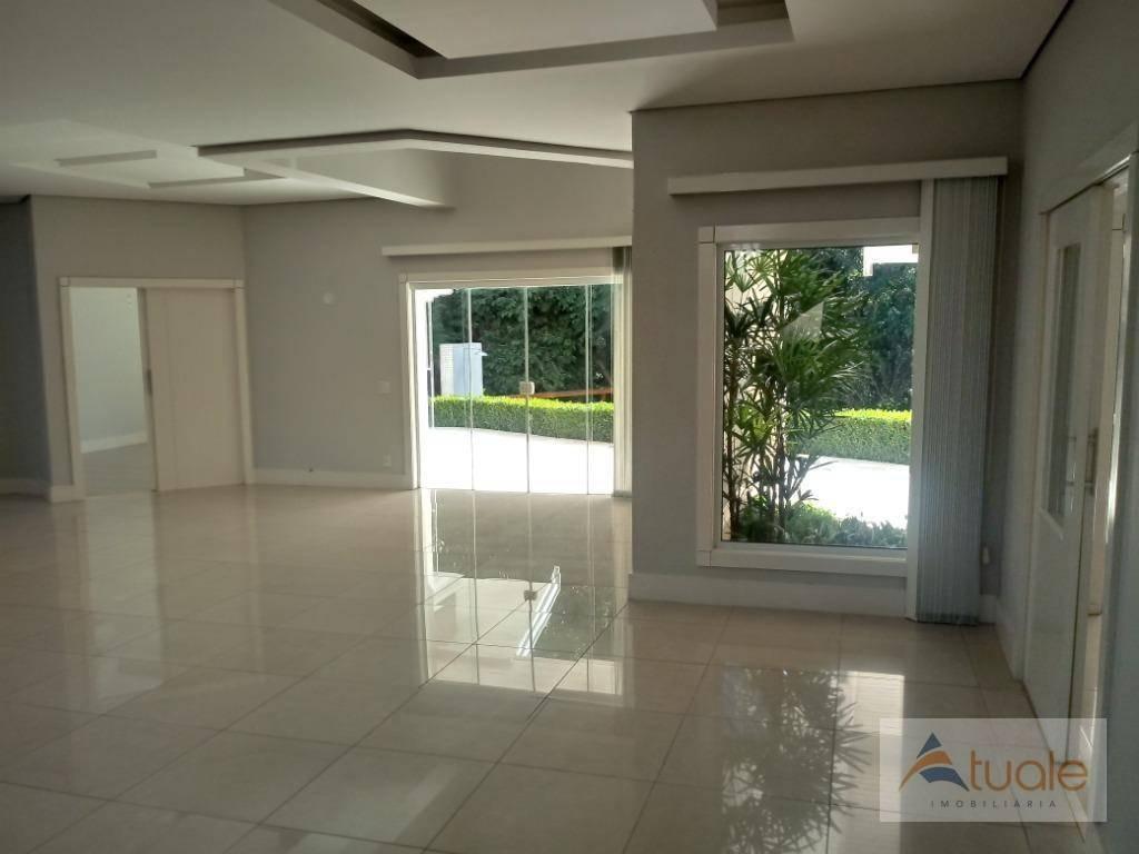 casa com 4 dormitórios à venda, 430 m²- alphaville campinas - campinas/sp - ca6314