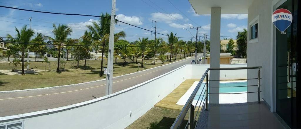 casa com 4 dormitórios à venda, 440 m² por r$ 1.600.000 - outeiro da glória - porto seguro/bahia - ca0164