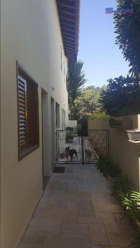 casa com 4 dormitórios à venda, 440 m² por r$ 1.990.000,00 - condomínio jardim paulista i - vinhedo/sp - ca0914