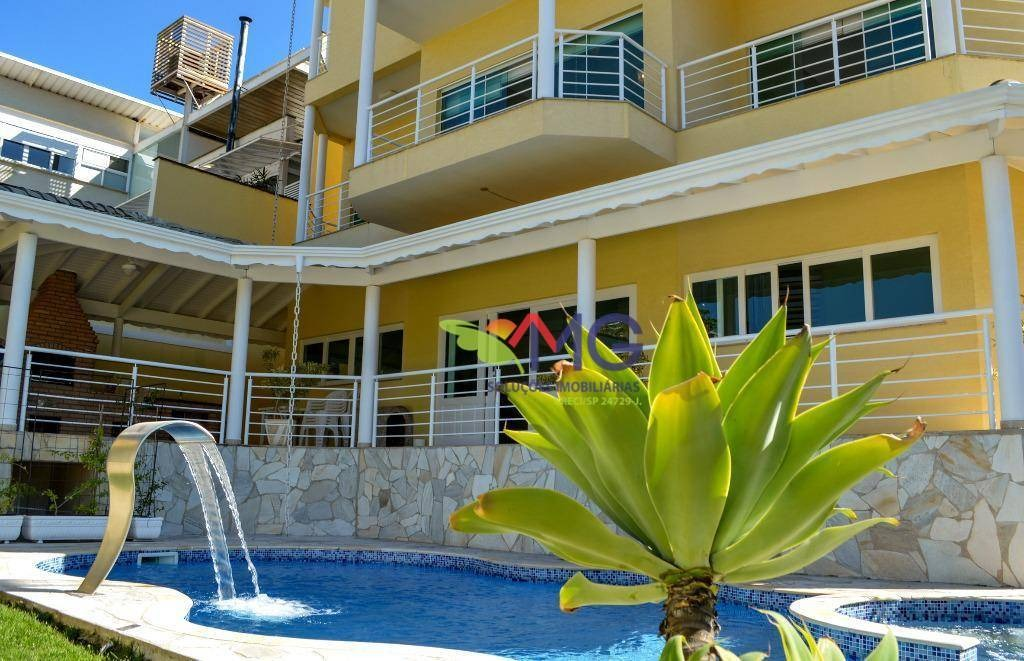 casa com 4 dormitórios à venda, 443 m² por r$ 1.390.000,00 - condomínio água verde - atibaia/sp - ca0228
