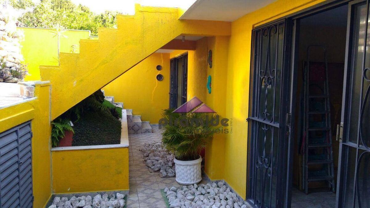 casa com 4 dormitórios à venda, 450 m² por r$ 1.000.000,00 - jardim das indústrias - são josé dos campos/sp - ca3096