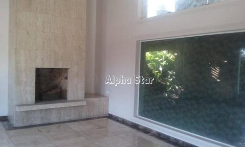 casa com 4 dormitórios à venda, 450 m² por r$ 2.200.000 - alphaville 1 - barueri/sp - ca2847