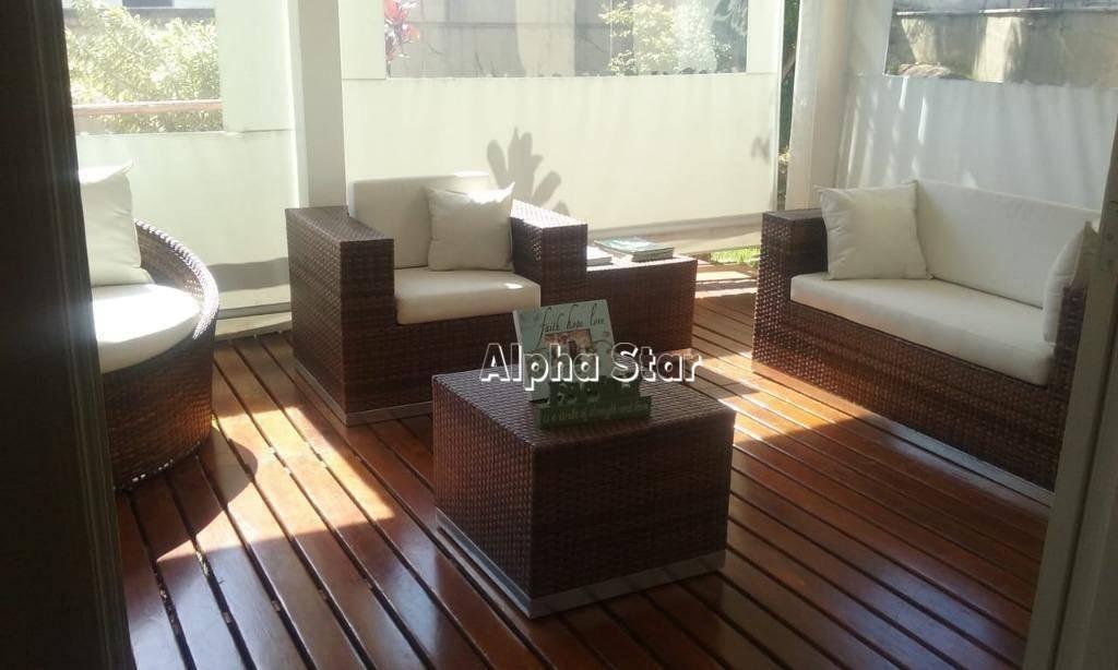 casa com 4 dormitórios à venda, 450 m² por r$ 2.700.000,00 - alphaville 1 - barueri/sp - ca2847